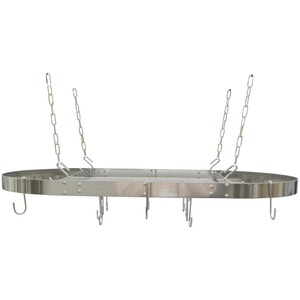 STAINLESS STEEL OVAL POT RACK - CW6001R - RANGE KLEEN