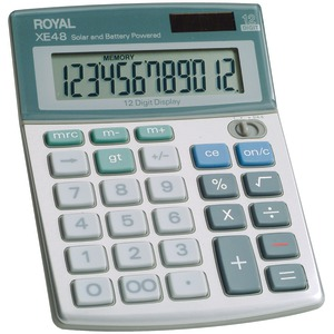 COMPACT DESKTOP SOLAR CALCULATOR - 29306S - ROYAL