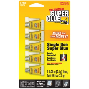 SINGLE USE MINTUBES - 15175-12 - SUPER GLUE