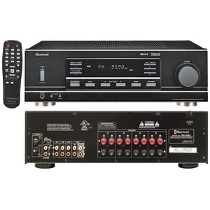 MULTISOURCE, DUAL ZONE A/V RECEIVER - RX-5502 - SHERWOOD