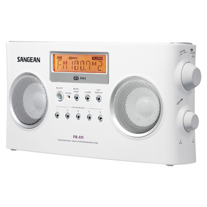 DIGITAL PORTABLE STEREO RECEIVER WITH AM/FM RADIO - PRD5 - SANGEAN