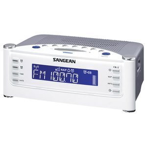 AM/FM ATOMIC CLOCK RADIO WITH LCD DISPLAY - RCR22 - SANGEAN