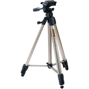 "PHOTO/VIDEO TRIPODS WITH 3-WAY PANHEAD (EXTENDED HEIGHT: 60.2""; FOLDED HEIGHT: 20.8""; WEIGHT: 2.9 LBS) - 620-080 - SUNPAK"