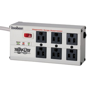 ISOBAR SURGE SUPPRESSOR (6-OUTLET WITH 6-FT CORD) - ISOBAR6 ULTRA - TRIPPLITE