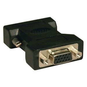 DVI TO VGA ADAPTERS (DVI-I TO VGA ANALOG ADAPTER CONVERTS DVI-I TO STANDARD VGA RECEPTACLE) - P120-000 - TRIPPLITE
