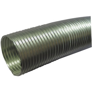 "SEMI-RIGID FLEXIBLE ALUMINUM DUCT (5"" DIA X 8-FT) - A058/5 - NONE"
