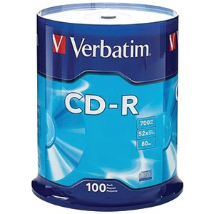 100CT 80-MIN 700MB CD-RS - 94554 - VERBATIM