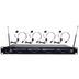 PYLE-PRO PDWM4400 4 MIC VHF WIRELESS LAVALIERE/ HEADSET SYSTEM